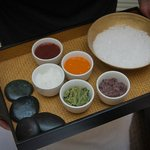 Salts and sugars used in body scrubs