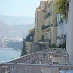La magnifique terrasse du restaurant