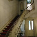 The grand staircase from the foyer.