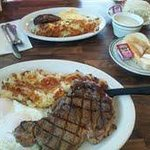 Rib eye Steak & Egg special
