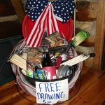 Prize for the 4th of July drawing at Bear Lodge