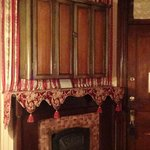 The Queen Anne Room fireplace