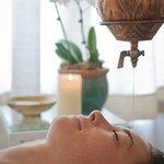 Shirodhara - meditative and relaxing Ayurvedic treatment at Waterstone Spa