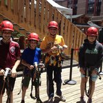 Preparing to Zipline
