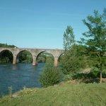 environnement proche : le pont sur le Tarn