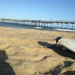 Nearby Avon Pier is a popular spot to launch for ocean downwinders, or just play on the beach/su