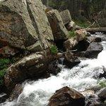 Missouri Creek from trail