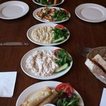 Starters / Meze - truly amazing such wonderful flavours