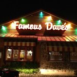 Famous Dives at night