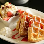Fresh Belgian Waffles! Hungry?
