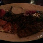 Mixed meat entree - pic does not do justice. Delish!