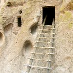 One of the many cliff dwellings.