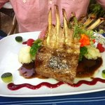 rack of lamb!