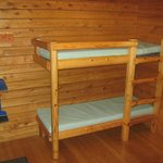 bunks:  They're large enough so that I was comfortable on them.