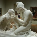 Sculpture Ganymede and the Eagle