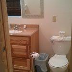 bathroom in cabin 4