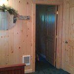 door way to back bedroom in cabin 4