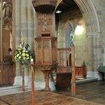 Wooden Pulpit