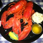 Great lobster meal