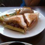 Sirlion Cheddar Sandwich