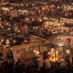 marrakech jemma fna square. 5 minutes walk from the house and you are there!