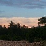 Sunset on the Saco.
