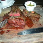 Sampler; Tenderloin, Hanger Steak, Churrasco Argentino