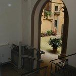 Small courtyard you enter into