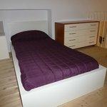 Appartamento Acquamarina - Il letto del soppalco