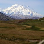 Views of Denali as you approach Eielson Visitor's Center