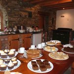 A range of our homemade cakes.
