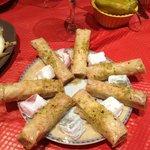 Turkish delights and mini baklava's for dessert