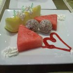 complementary Special sweet made for us