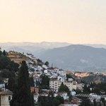 View towards the Sierra Nevadas