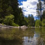 Merced River near Wawona