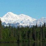 Mt McKinley taken from Byers Lake