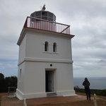 Unique shape of lighthouse