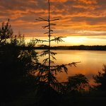 Sunset over Moose Lake