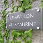Le Pavillon Villemaurine, outdoor sign