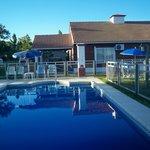 portada de la piscina