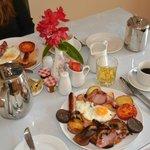 Beautiful Breakfast @ Edencrest- We wish we stayed longer here in Bantry