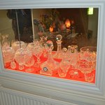 A Beautiful Waterford Crystal Display in Foyer