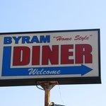 Sign above diner