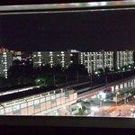 部屋から見た夜景