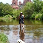 Sedona is very dog friendly