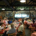 main dining room, Cajun band