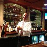 Branco - the best chocolate martini maker - ever!!