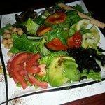 The amazing mixed salad