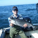 Rich With A 15 lb Chinook On Day 1