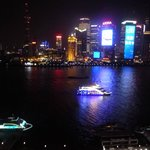Night view- Huangpau River and Pudong side